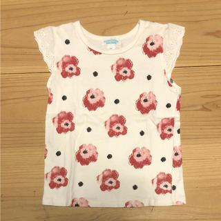 チッカチッカブーンブーン(CHICKA CHICKA BOOM BOOM)のチッカチッカ 花柄Tシャツ M(Tシャツ/カットソー)