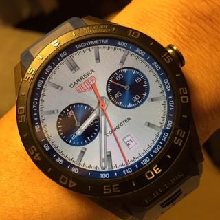 タグホイヤー(TAG Heuer)のタグホイヤー  コネクテッド ブルー 美品(腕時計(デジタル))