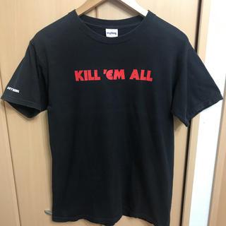 エニシング(aNYthing)のUSA製 anything KILL'EM ALL  元 supreme クルー(Tシャツ(半袖/袖なし))