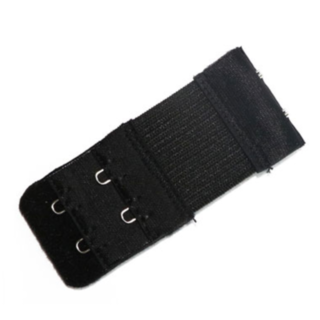 ブラジャー 延長 ホック ブラック+スキンカラー 2個 新品(ブラ&ショーツセット)