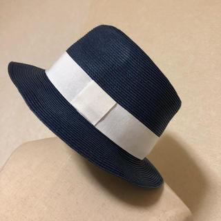ゾーイ(ZOY)のZOY(ゾーイ) 中折れハット カラー 青  サイズF  ゴルフ 自宅保管品(その他)