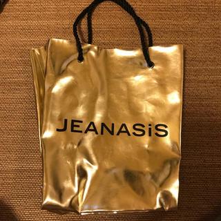 ジーナシス(JEANASIS)のジーナシス  ノベルティバック(ショップ袋)