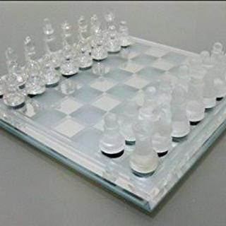 【新品・送料込】チェスセット star glass chess set(オセロ/チェス)