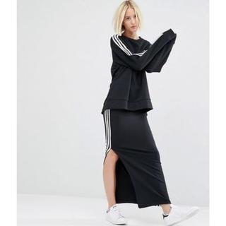 アディダス(adidas)のアディダススカート1度着用自宅保存(ロングスカート)