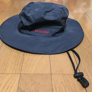 コロンビア(Columbia)のコロンビア ハット 帽子 ブラック 新品(登山用品)