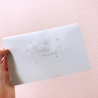 ディズニー(Disney)の結婚式 招待状 6枚のみ(その他)