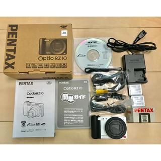 ペンタックス(PENTAX)のペンタックス Optio RZ10 ホワイト(コンパクトデジタルカメラ)