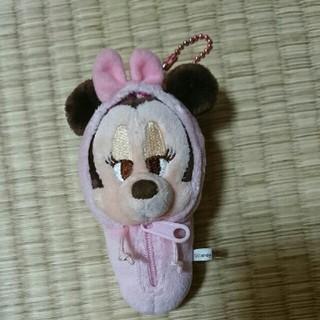 ディズニー(Disney)のミニーちゃん ディズニー ミニーマウス キーホルダー ぬいぐるみ(キャラクターグッズ)