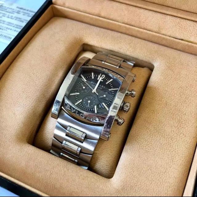 9d3d05e49d BVLGARI(ブルガリ)のブルガリ アショーマ クロノグラフ AA44C14SSDCH メンズの時計(腕時計(