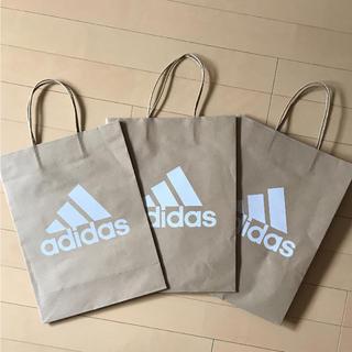アディダス(adidas)のadidas ショップ紙袋 3枚入り(ショップ袋)