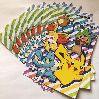 ポケモン(ポケモン)のポケモン ポストカード  8枚(使用済み切手/官製はがき)