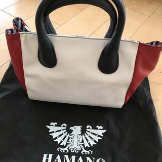 ハマノヒカクコウゲイ(濱野皮革工藝/HAMANO)の値下げ!HAMANO × Xoneコラボ バッグ(ハンドバッグ)