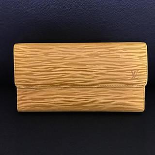 ルイヴィトン(LOUIS VUITTON)のLOUIS VUITTON  エピ長財布(財布)