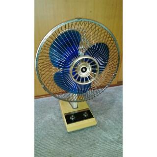 ミツビシデンキ(三菱電機)の扇風機 レトロ 首振り不可(扇風機)
