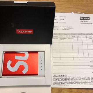シュプリーム(Supreme)の国内正規  シュプリーム モバイルバッテリー Mophie Encore 10k(バッテリー/充電器)