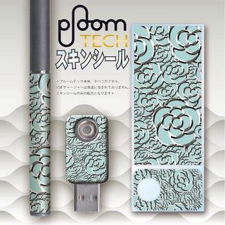 プルームテック(PloomTECH)のプルームテック スキンシール カメリア No.9 ploomtech(その他)