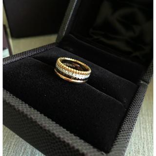 ブシュロン(BOUCHERON)のBOUCHERON(ブシュロン) キャトル ダイヤモンドリング スモール(リング(指輪))