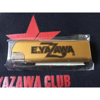 ヤザワコーポレーション(Yazawa)の矢沢永吉 E.YAZAWA ライター  ゴールド ブラックロゴ(ミュージシャン)