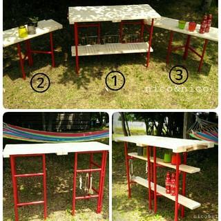 キャンプテーブル キャンプラック(テーブル/チェア)