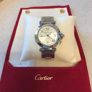 カルティエ(Cartier)のカルティエ パシャ メリディアン GMT 腕時計(金属ベルト)