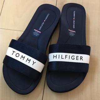 トミーヒルフィガー(TOMMY HILFIGER)のTOMMY HILFIGER♡スリッパ(ビーチサンダル)