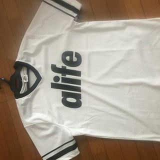 エーライフ(ALIFE)のALIFE フットボールシャツ(Tシャツ/カットソー(半袖/袖なし))