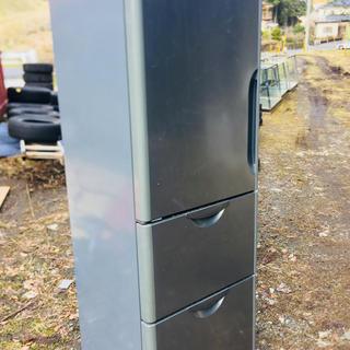 ヒタチ(日立)の3ド 送料無料355L日立ノンフロン冷凍冷蔵庫『R-S36SVL』※2003年製(冷蔵庫)