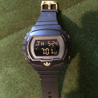 アディダス(adidas)のadidas デジタル 時計(腕時計)