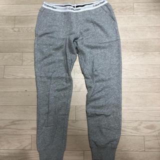 カルバンクライン(Calvin Klein)のカルバンクライン スウェットパンツ グレー レディース Mサイズ(その他)