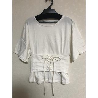 スライ(SLY)のSLY コルセット付きTシャツ(Tシャツ(半袖/袖なし))