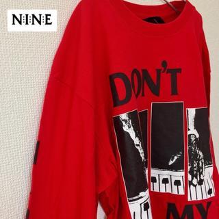 ナインルーラーズ(NINE RULAZ)の90s NRL オーバーサイズ ビッグシルエット デカロゴ 長袖シャツ メンズ(Tシャツ/カットソー(七分/長袖))