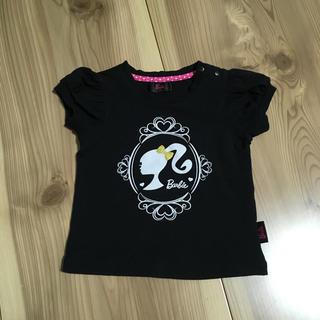 バービー(Barbie)の(90)バービー 黒Tシャツ(Tシャツ/カットソー)