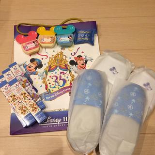 ディズニー(Disney)のアンバサダーホテル35周年 アメニティ  ディズニー購入600円&ブラシ追加!(アメニティ)