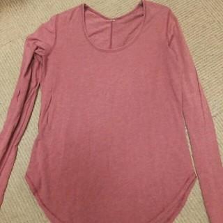 f8bf9e0e13e8c ルルレモン(lululemon)のルルレモン 長袖Tシャツ サイズ6? ヘザーボルドー 中古(