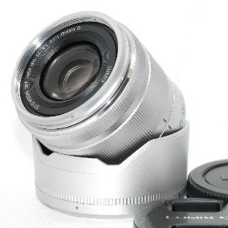 パナソニック(Panasonic)の❤️美品❤️超軽くコンパクトな望遠!❤️パナソニック 35-100mm(レンズ(ズーム))