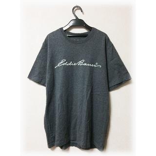 人気 エディーバウアー ロゴTシャツ シンプル 人気 美品 アメカジ アウトドア