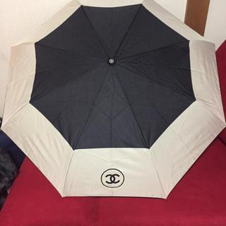 シャネル(CHANEL)の新品♡CHANEL♡折りたたみ傘(傘)