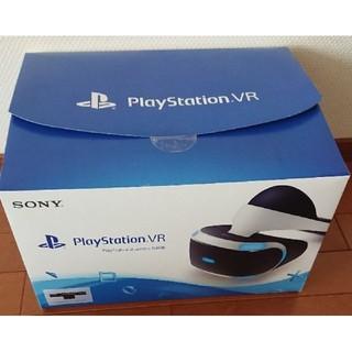 プレイステーションヴィーアール(PlayStation VR)の新品同様 美品 psvr PS VR プレイステーションVR Camera同梱版(家庭用ゲーム機本体)