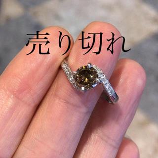 天然ブラウンダイヤモンド リング 13号(リング(指輪))