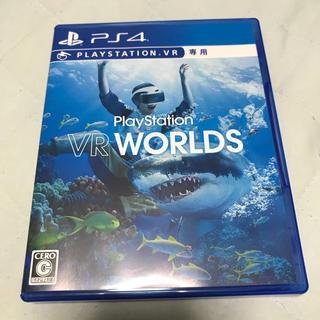 プレイステーションヴィーアール(PlayStation VR)のVR WORLDS PS4 VRワールド PSVR PS4ソフト(家庭用ゲームソフト)