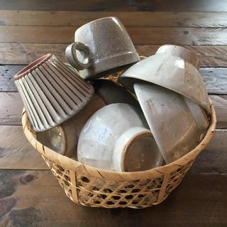竹カゴ  23㎝   小物収納  竹ザル  竹かご 水切りかご (バスケット/かご)