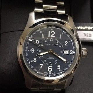 ハミルトン(Hamilton)の(未使用)Hamilton カーキフィールド アナログ腕時計 H70605143(その他)