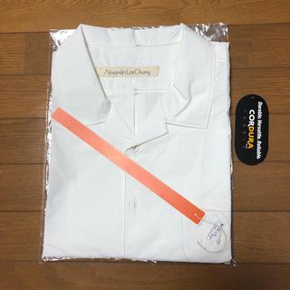 アレキサンダーリーチャン(AlexanderLeeChang)のAlexanderLeeChang 白開襟シャツ 半袖(シャツ)