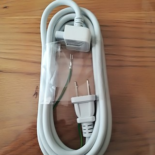 マック(Mac (Apple))のアップル純正 電源延長ケーブル(PC周辺機器)