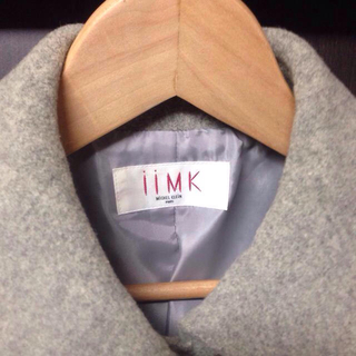アイアイエムケー(iiMK)のiiIMK グレーコート 40(ロングコート)