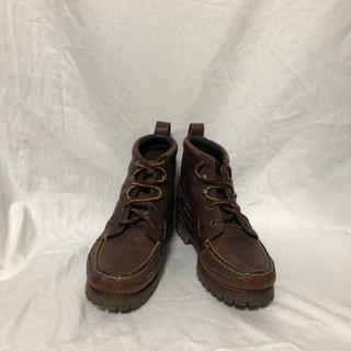 ラルフローレン(Ralph Lauren)のラルフローレン トレッキングシューズ ワークブーツ ブラウン アウトドア(ローファー/革靴)
