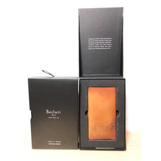 ベルルッティ(Berluti)のBerluti ベルルッティ  iPhone X 用レザーフリップケース(iPhoneケース)