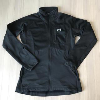 アンダーアーマー(UNDER ARMOUR)のアンダーアーマー黒ジャケットS M新品未使用(トレーニング用品)
