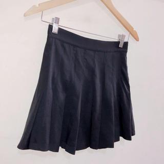 ロクロクガールズ(66girls)のブラック テニススカート(ミニスカート)