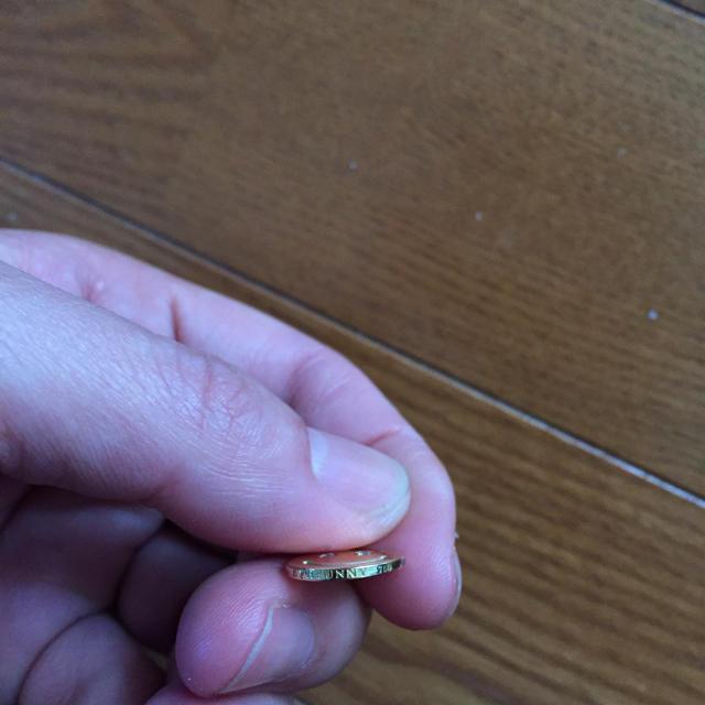 EYEFUNNY(アイファニー)のeyefunny スマイルM アイファニー  18金 750 YG ダイヤ メンズのアクセサリー(ブレスレット)の商品写真